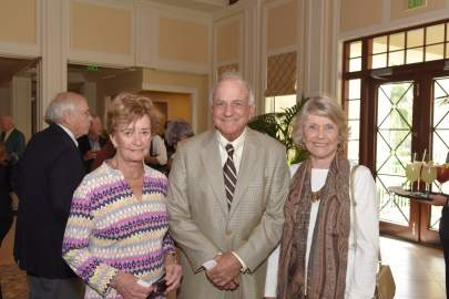 Carol and Bob Weissman with Andrea Lutz