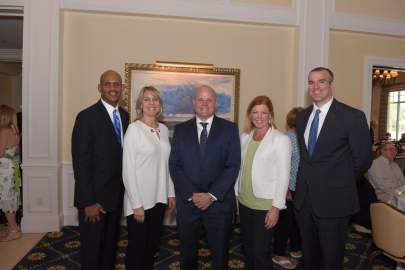 Bank of America/Merrill Lynch sponsors Phillip McLaughin, Tammy Matthew, Rob Tweeddale, Kristin Horton and Daniel Weaver