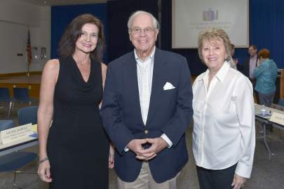 Trish Giles, Ed Cowles & Lois McGuire
