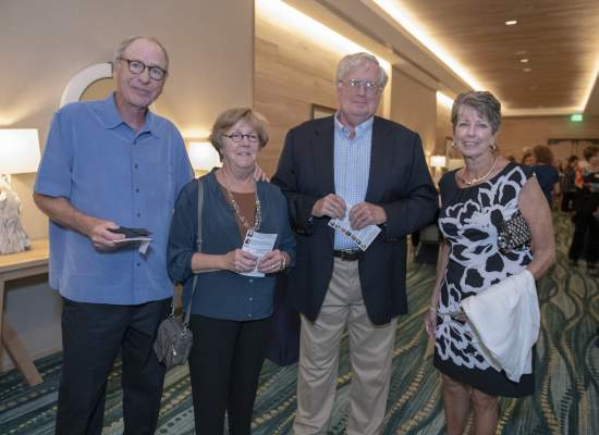 Bob and Sue Van Dellen, John Amerling and Patricia Cuccurullo