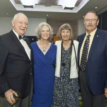 Charlie Lippincott, Widget Webert, Eva Lippincott, Jim Webert