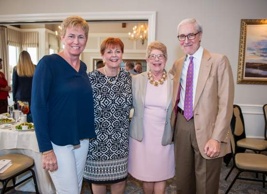 Denise Belizar, Beverly Bevis Jones, Pat Austin and Dennis Fruitt