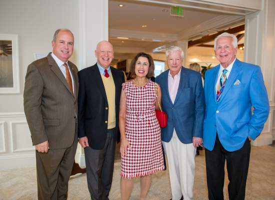 Ed Ciampi, Knight Kiplinger, Phyllis and Jerry Rappaport and Frank Byers