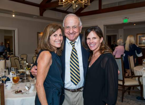 Laura Weissman Davis, Bob Weissman and Michelle Titlebaum