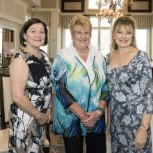 Maryann Atkins, Sue Peters, Alishia Parenteau