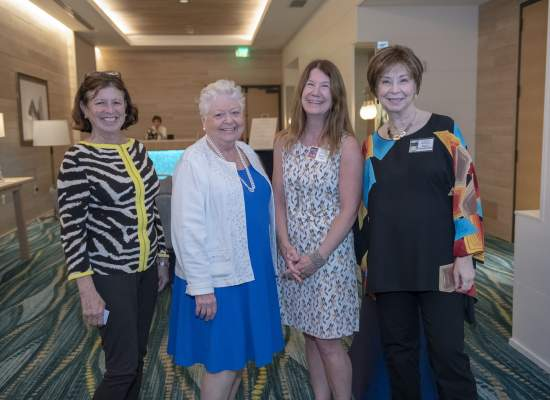 Patty Jacobson, May Smythe, Susan Wiggs and Diane Chamberlain