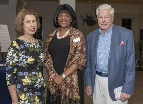 Phyllis Rappaport, Xenobia Poitier Anderson and Jerry Rappaport